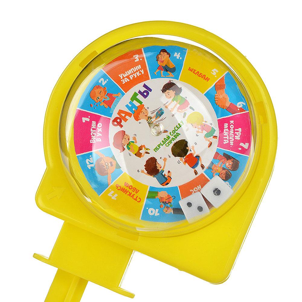 ИГРОЛЕНД Игра настольная в виде рулетки, пластик, 11х7х6см, 2 дизайна