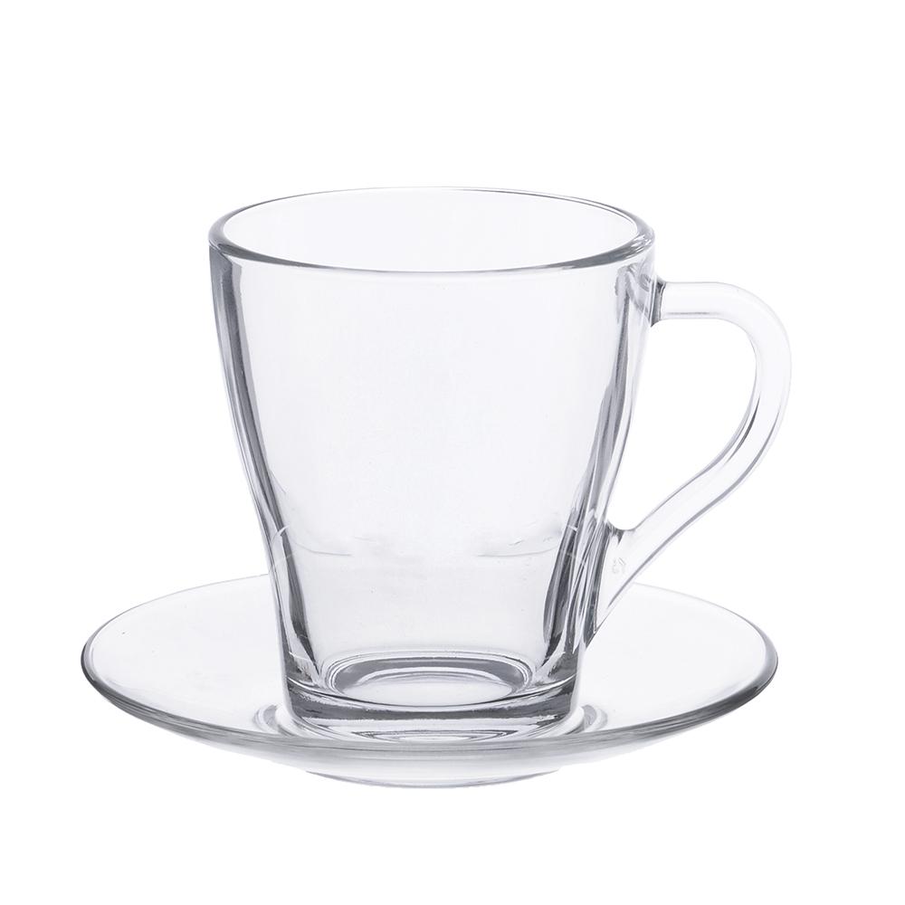 """Чайный сервиз 12 предметов, стекло, ОСЗ """"Грация"""" 08с1349+13с1649 У"""