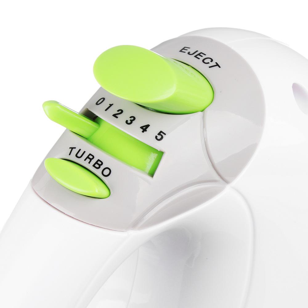 Миксер кухонный LEBEN 200 Вт, 5 скоростей, режим TURBO