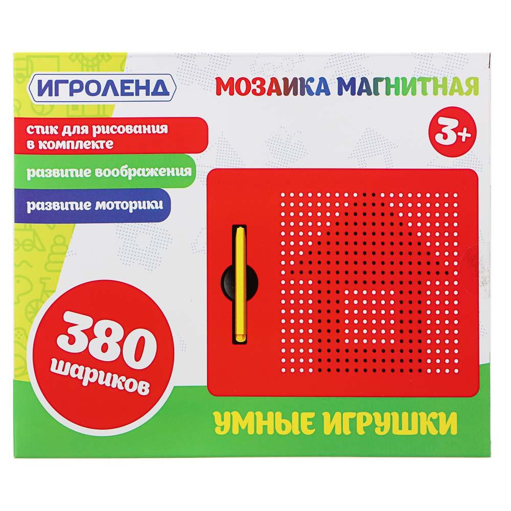 ИГРОЛЕНД Мозаика магнитная, пластик, 18х22х1,8см