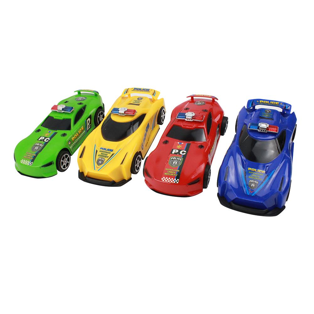 ИГРОЛЕНД Машинка поилискар, инерция, пластик, 17,5х7,5х5см, 4 дизайна