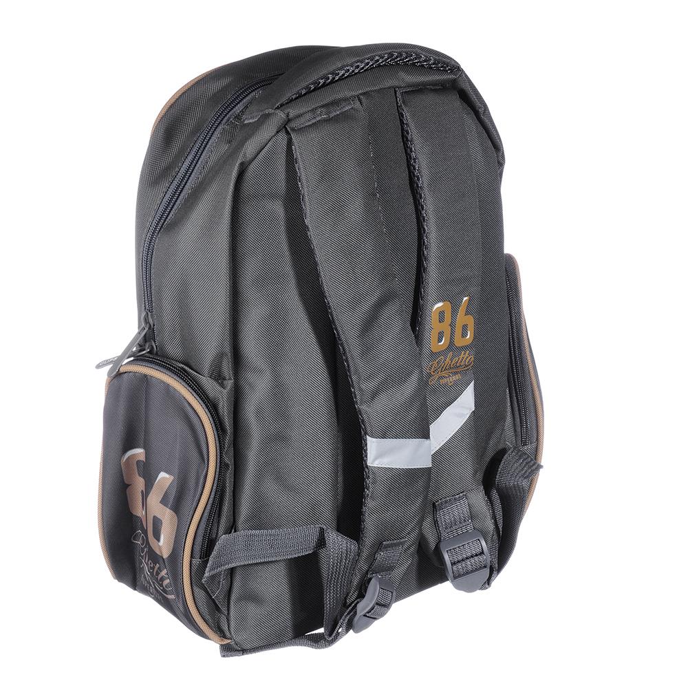 Рюкзак подростковый Файтинг Дог 38x30x14см, 1 отделение, 3 кармана, полиэстер