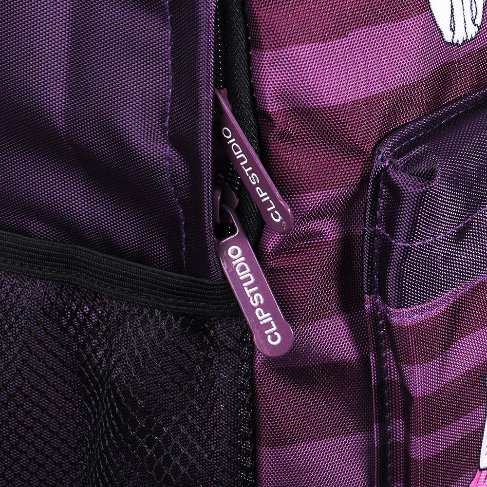 Рюкзак школьный МЯУ!  38x30x14см, 1 отделение, 3 кармана, полиэстер