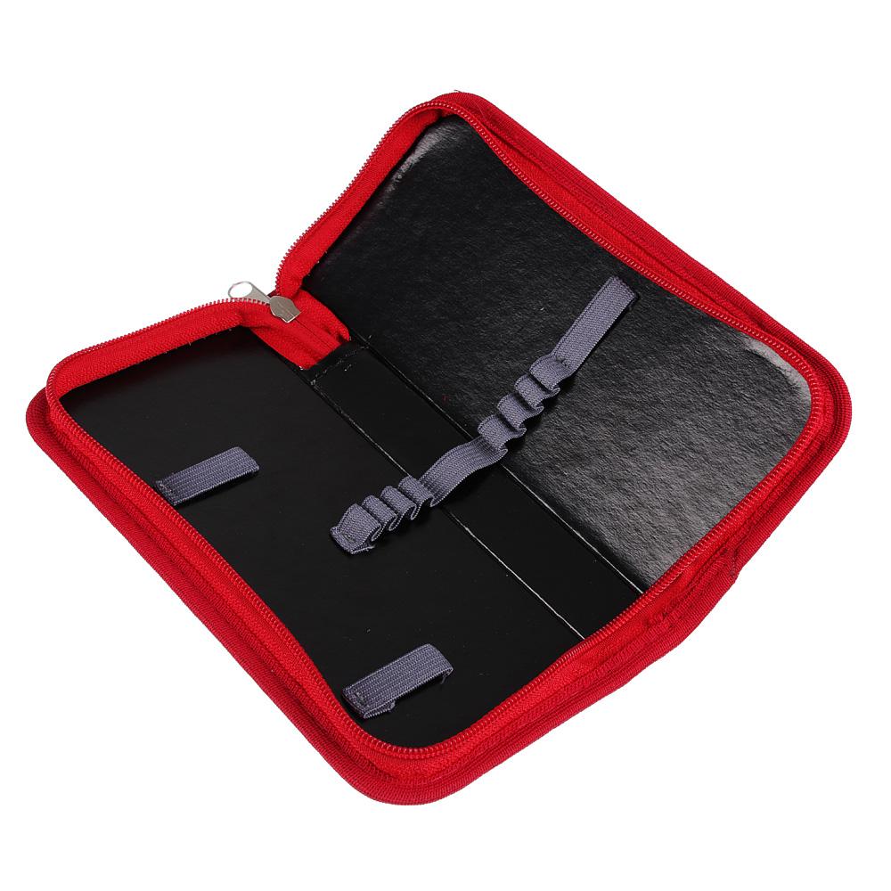 Суперкар Пенал, прямоугольный 9х19см, на молнии, покрытие картон, в т/ус. пленке