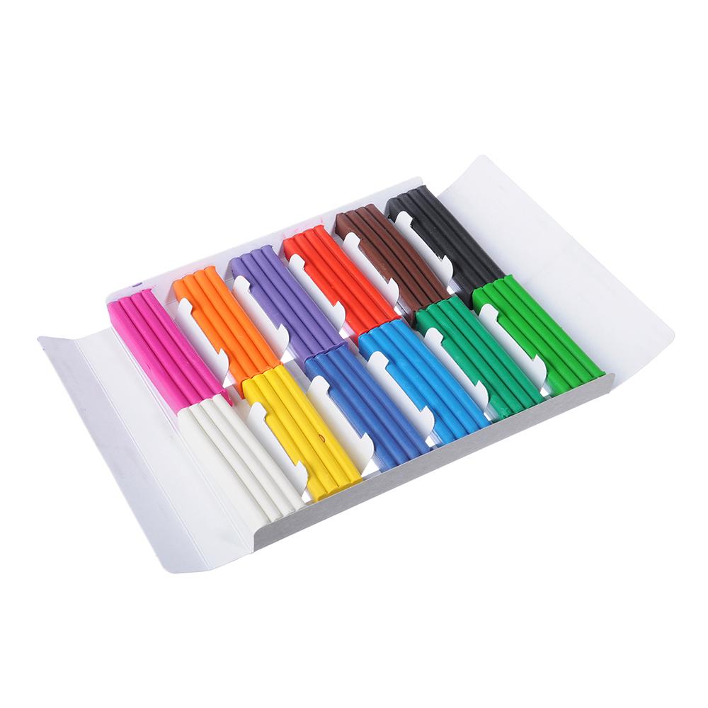 Суперкар Пластилин 12 цветов 240 грамм в картонном выдвижном пенале