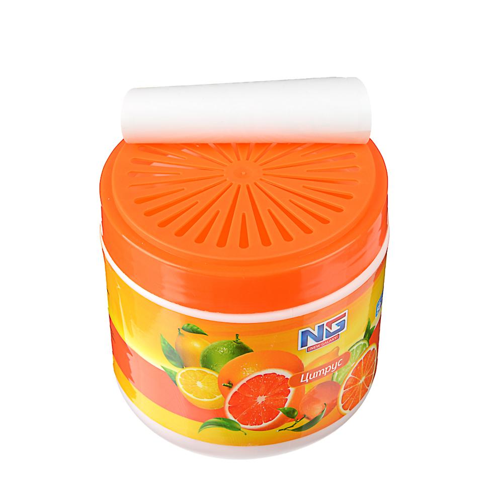 NEW GALAXY Ароматизатор гелевый для дома, 400 гр., ваниль, лаванда, цитрус, свежесть океана
