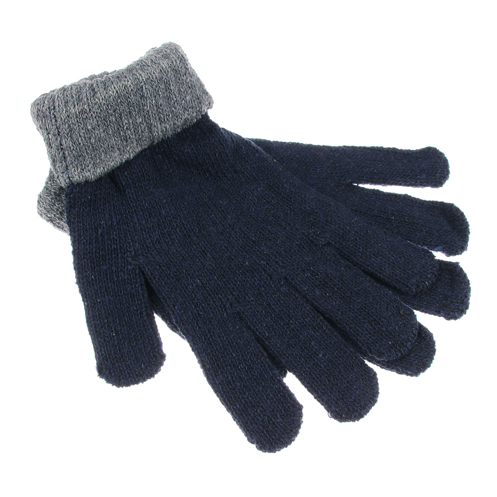 Перчатки мужские, размер универсальный, 100% полиэстер, 3 цвета