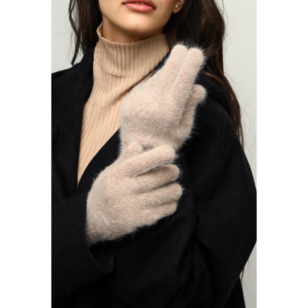 Перчатки женские, 10% ангора, 90% акрил, размер универсальный, 3 цвета