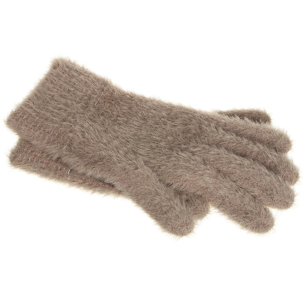 Перчатки молодежные, размер универсальный, 100% акрил, 3 цвета