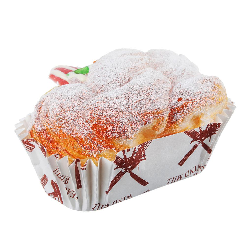 Магнит на холодильник в виде сэндвича, PU, 10,5х7х5см