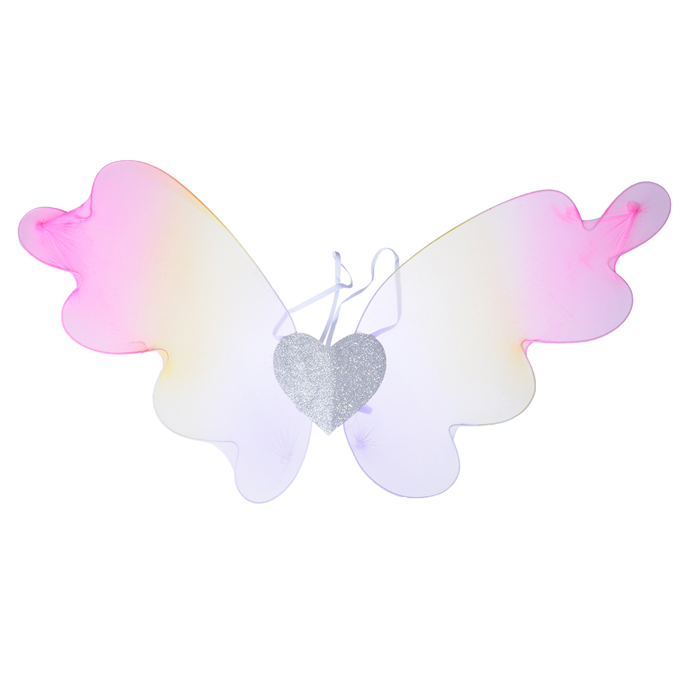 Костюм карнавальный крылья бабочки СНОУ БУМ полиэстер
