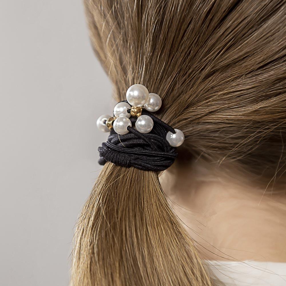 Резинки для волос BERIOTTI, 4 шт, d.5 см,  4-6 цветов