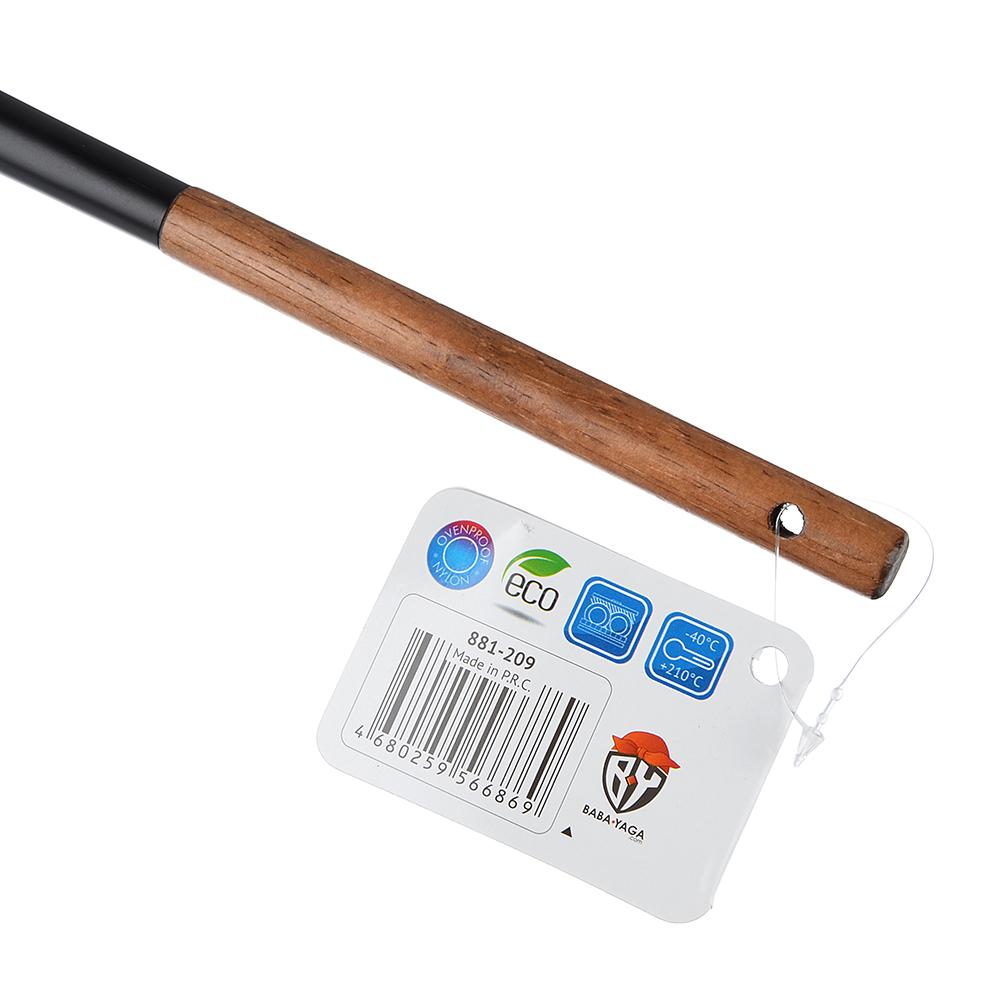 Половник VETTA Виста, нейлон, ручка нерж.сталь, дерево