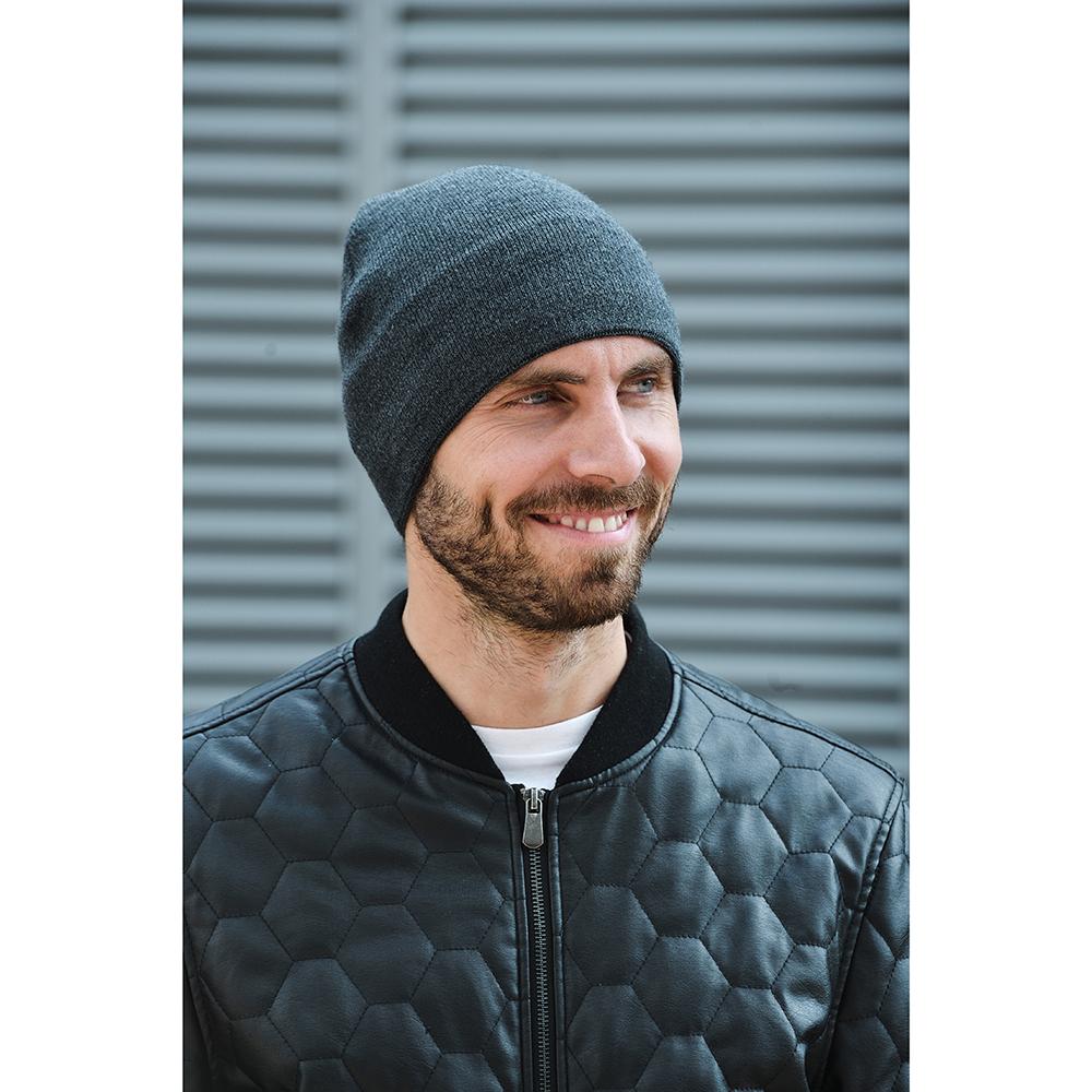 Шапка мужская, размер 48-56, 100% полиэстер, 3 дизайна
