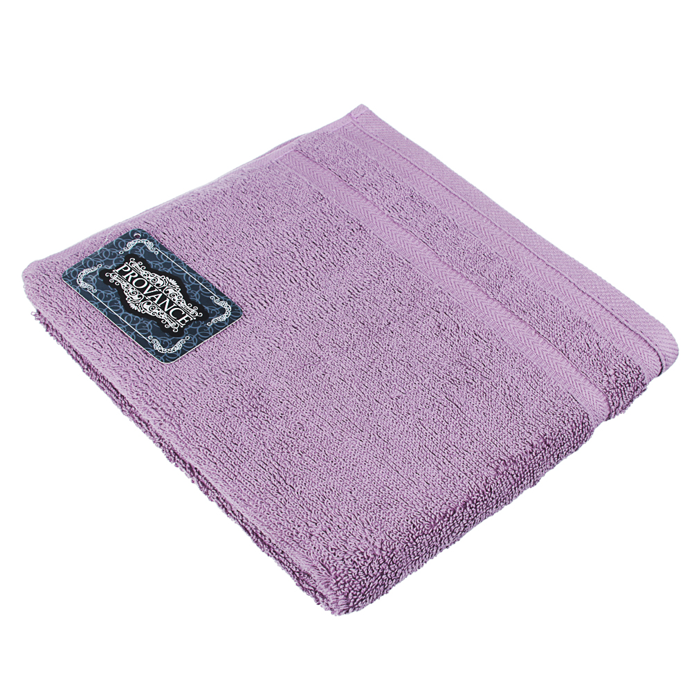 "Полотенце махровое PROVANCE ""Виана"" 50х90см, 100% хлопок, фиолет"
