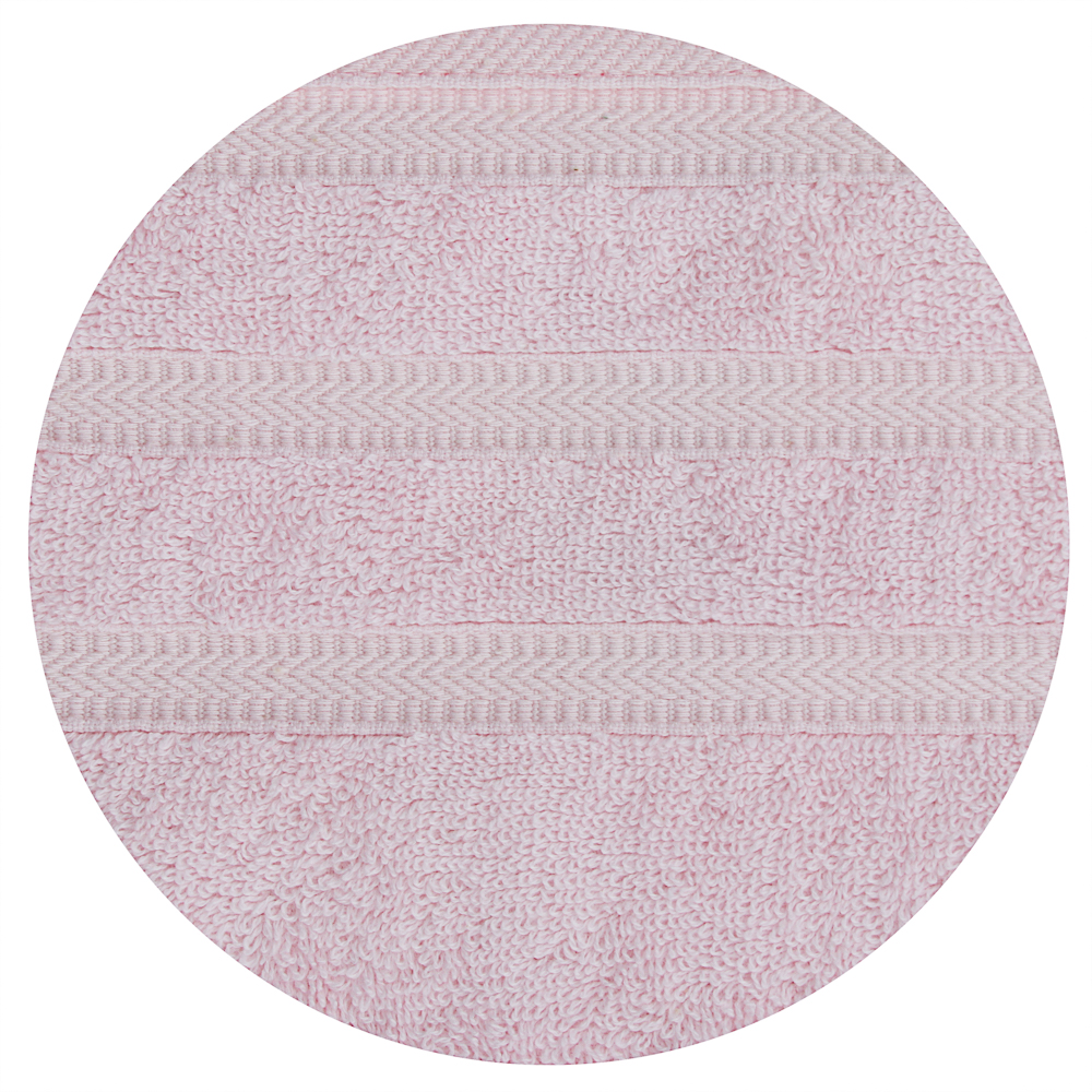 "Полотенце махровое PROVANCE ""Виана"" 70х130см, 100% хлопок, нежно-розовый"