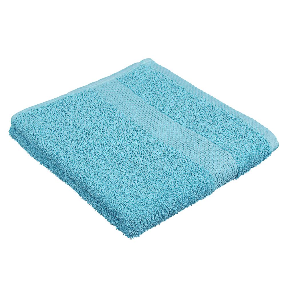 """PROVANCE Полотенце махровое, 100% хлопок, 50х90см, 360гр/м, """"Грейс"""" голубой"""