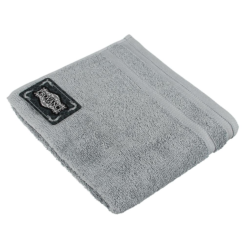 "Полотенце махровое PROVANCE ""Виана"" 50х90см, 100% хлопок, светло-серый"