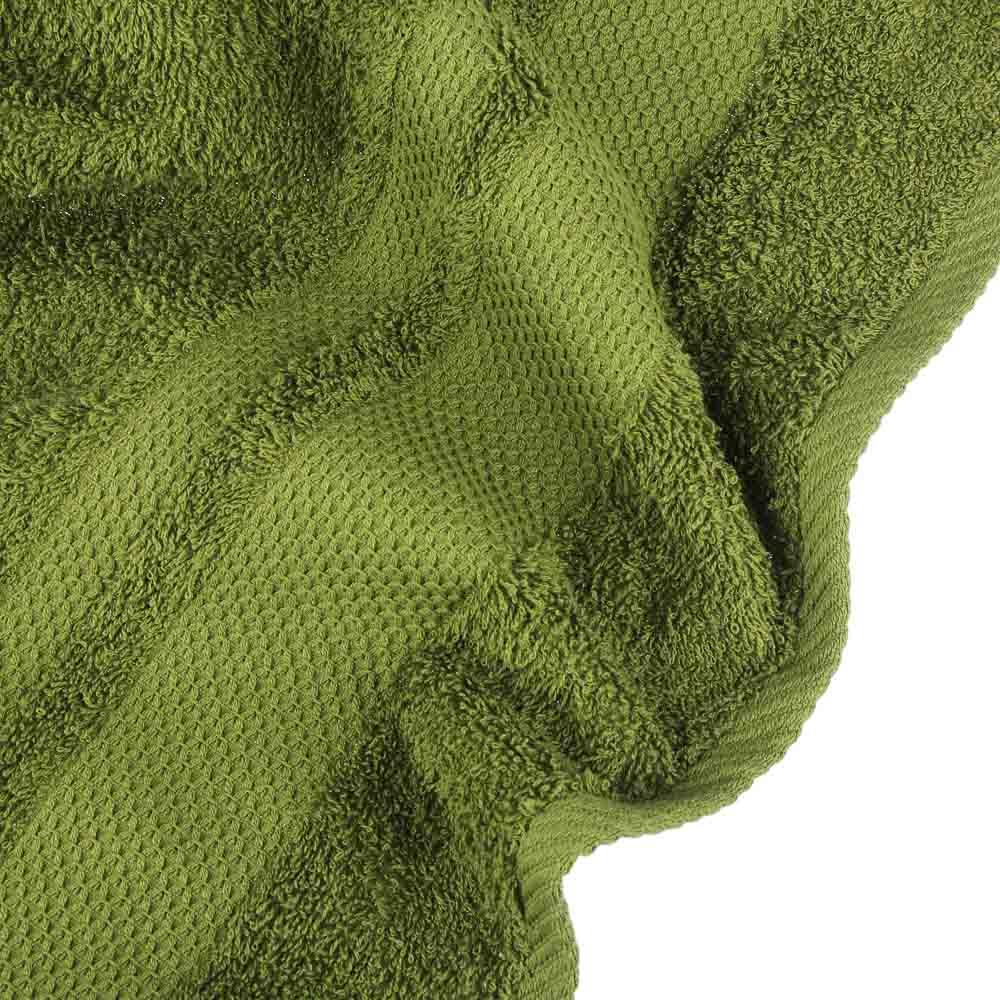 "Полотенце махровое PROVANCE ""Грейс"" 70х130см, 100% хлопок, темно-зеленый"