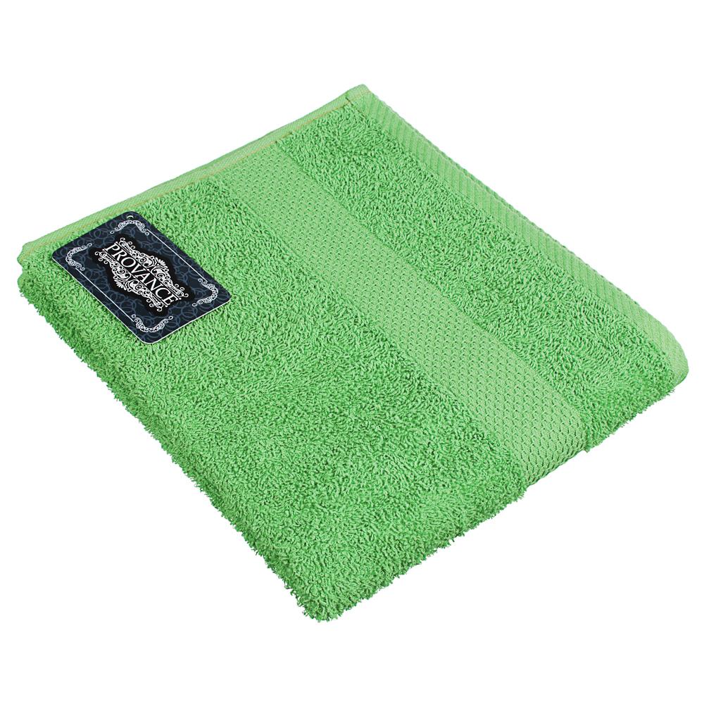 Полотенце махровое PROVANCE Наоми 50х90см, 100% хлопок, зеленый