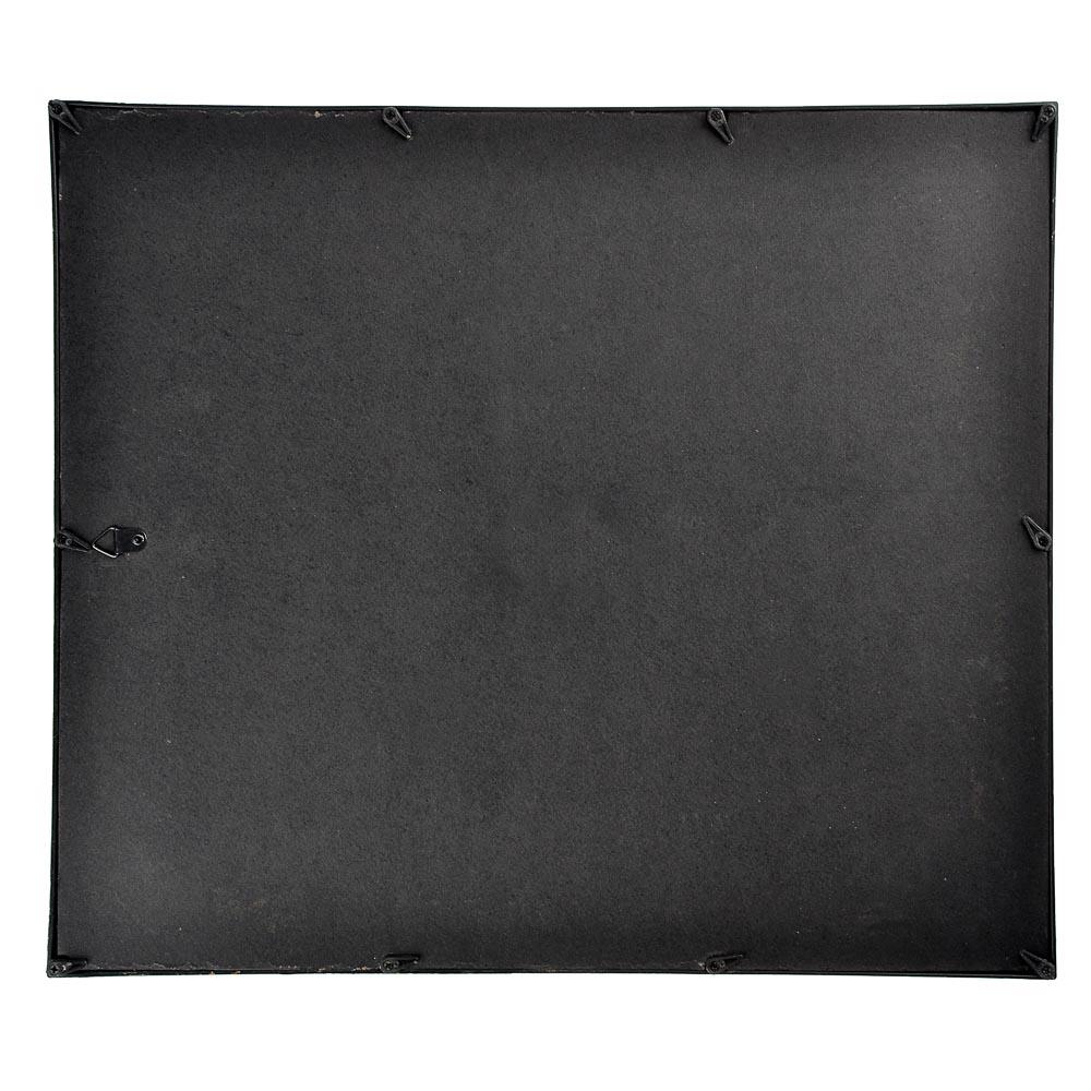 Фоторамка с декоративной рамкой, 39х34,5 см, 2 цвета, пластик