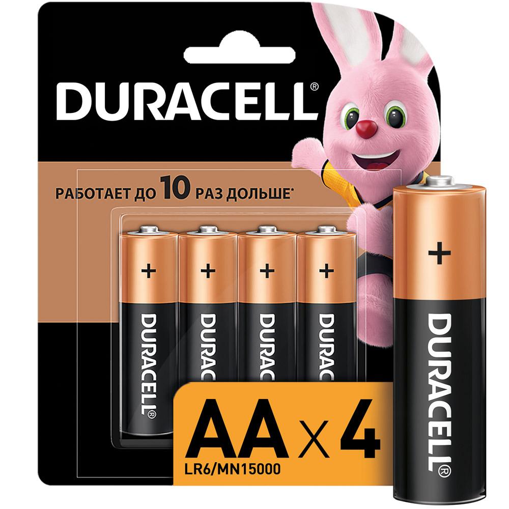 Батарейки DURACELL Basic АА, 4шт, CN