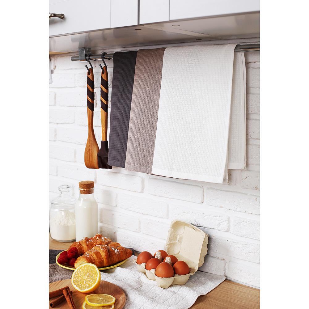 """Кухонное полотенце вафельное PROVANCE """"Гармония"""", 100% хлопок, 40х60 см, 3 цвета"""