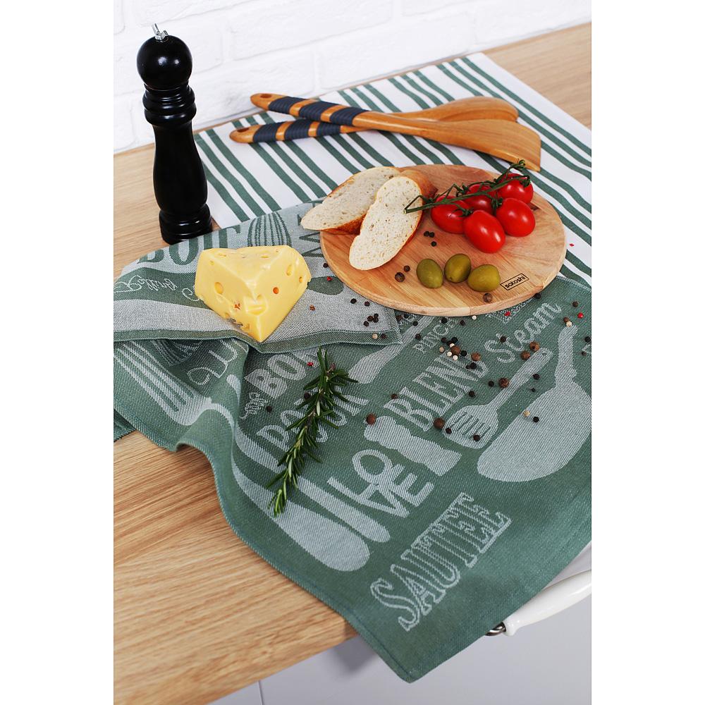 "Кухонное полотенце PROVANCE ""Кухня"", 100% хлопок, 40х60 см, 2 дизайна"
