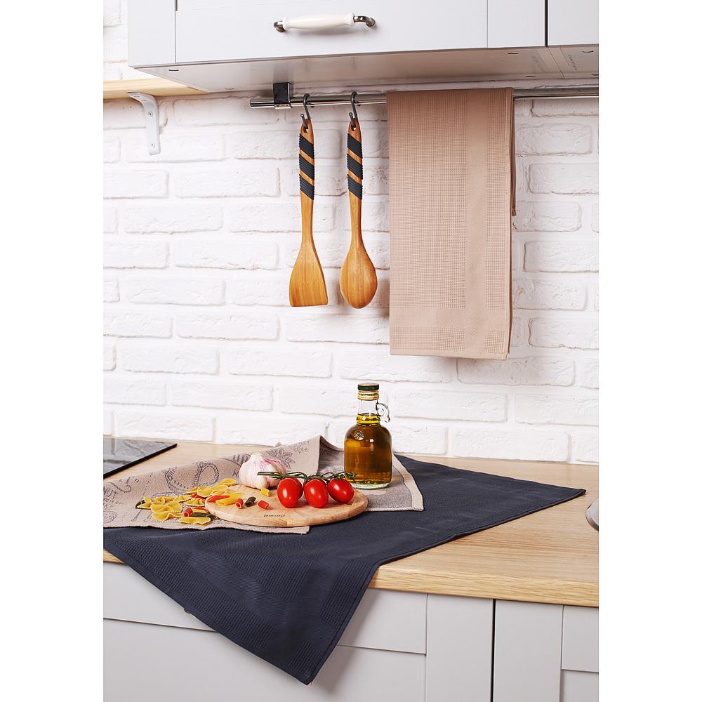 "Кухонное полотенце вафельное PROVANCE ""Кухня"", 100% хлопок, 40х60 см, 2 цвета"