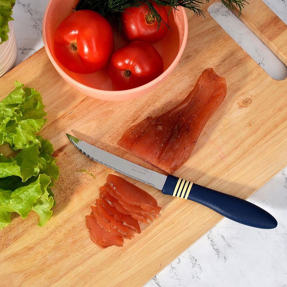 "Tramontina Cor&Cor Нож для мяса 5"" 23466/235 (цена за 2 шт.)"