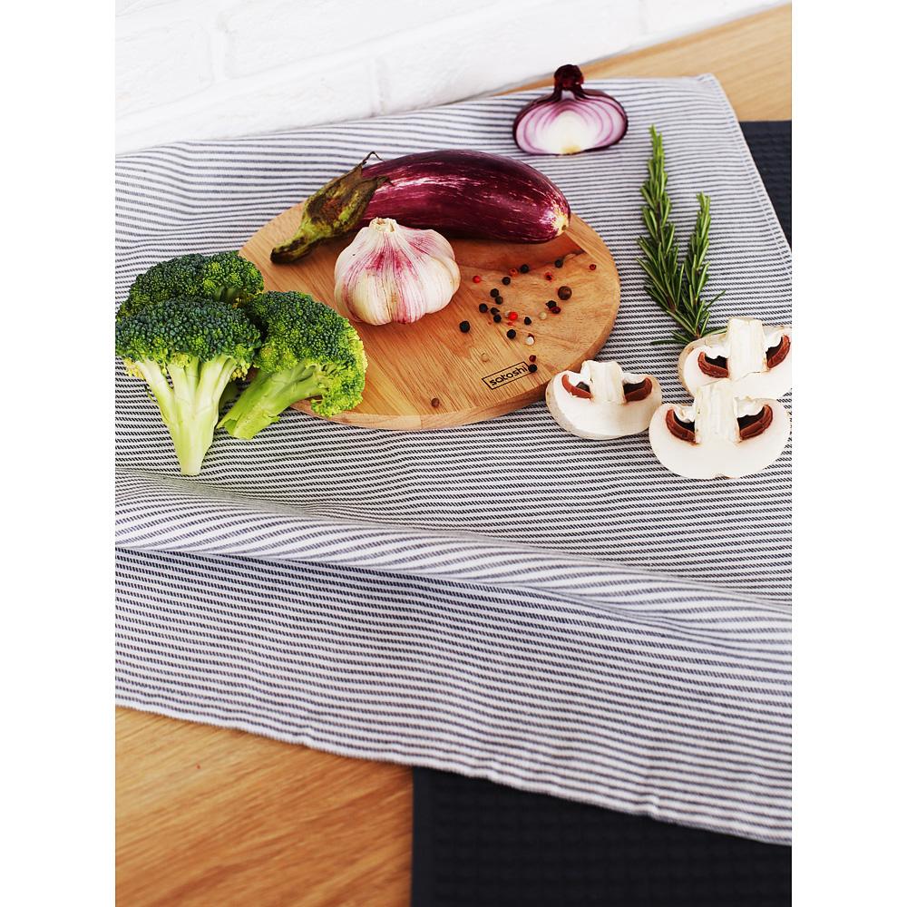 """Полотенце кухонное PROVANCE """"Кухня в полоску"""", 100% хлопок, 40х60 см, 2 дизайна"""
