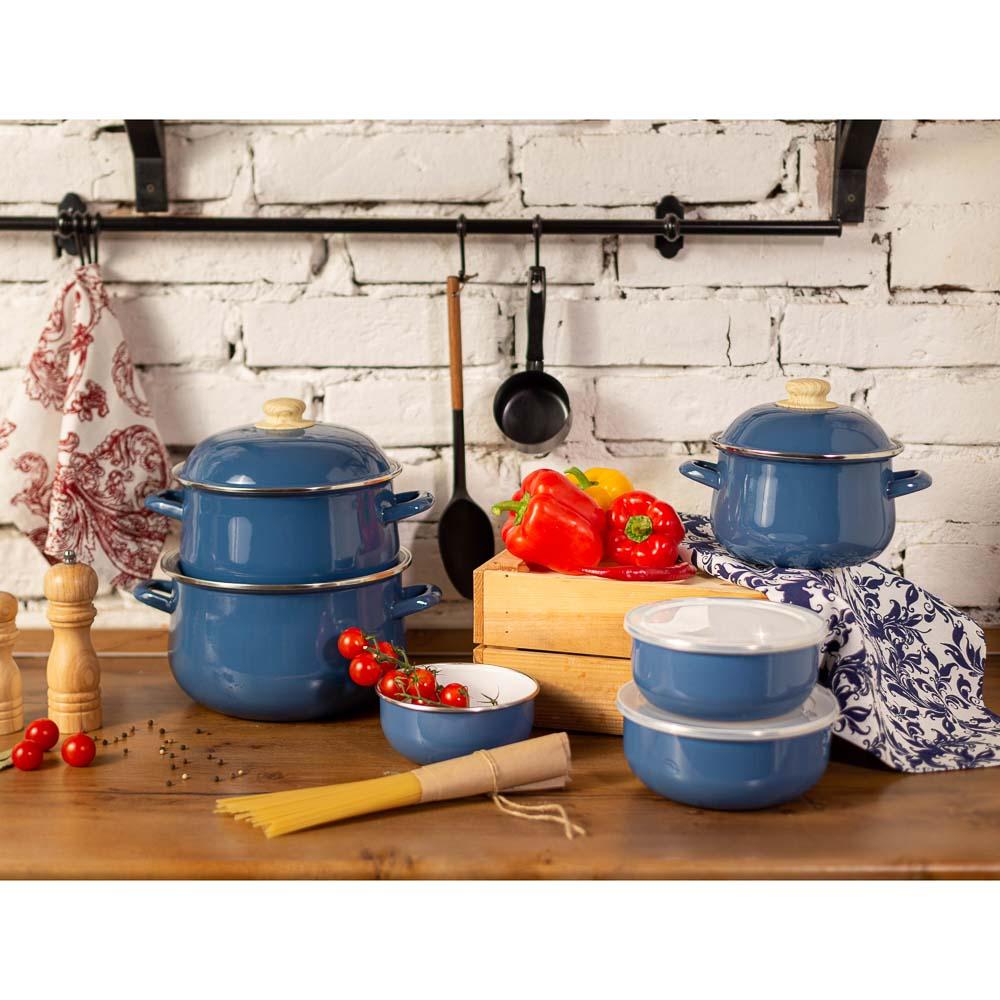 Чайник 2,5 л VETTA Глянец, эмалированный, синий, индукция