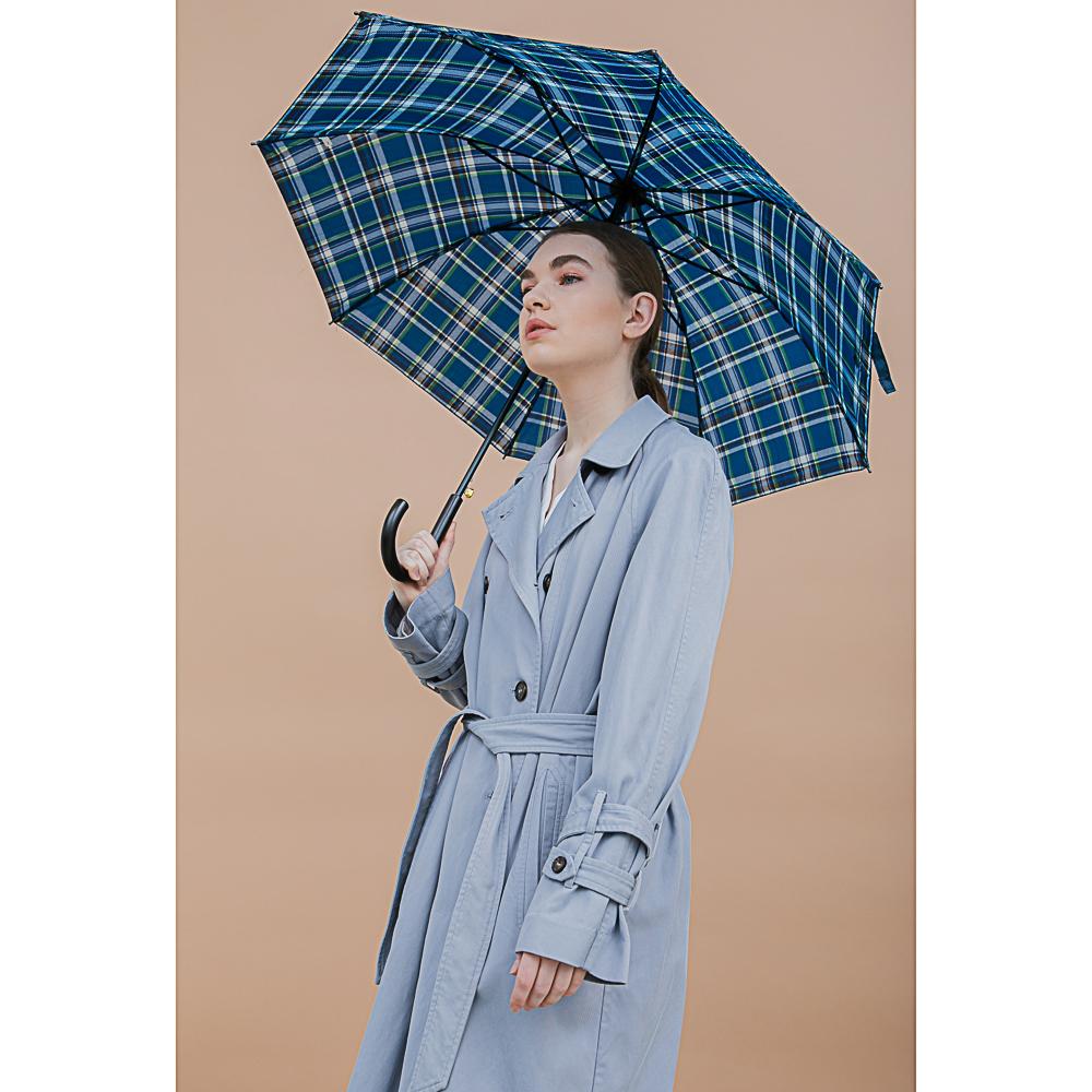 Зонт-трость универсальный, сплав, полиэстер, 55см, 8 спиц, 4-6цв, 10598-4
