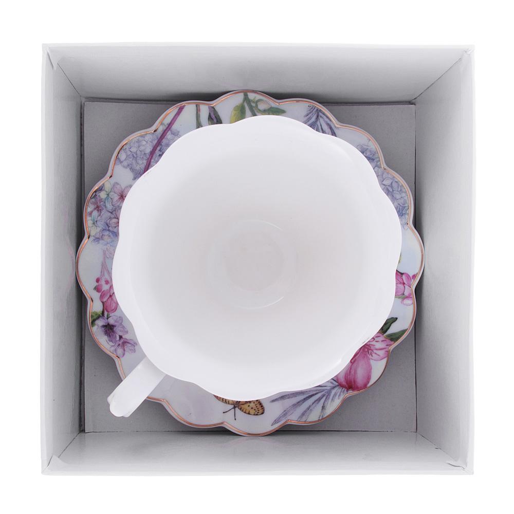 Чайный сервиз 2 предмета MILLIMI Арлетт 220мл, костяной фарфор
