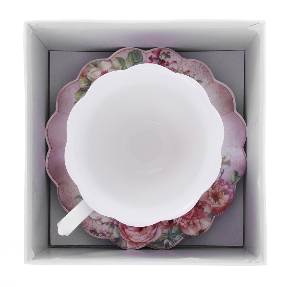 Чайный сервиз 2 предмета MILLIMI Аллегро 220мл, костяной фарфор