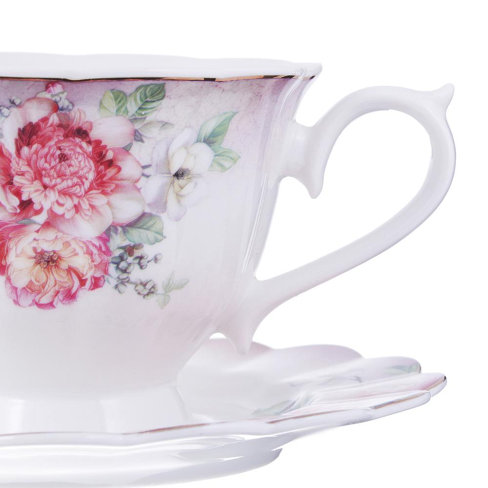 Чайный сервиз 12 предметов MILLIMI Аллегро 220мл, костяной фарфор