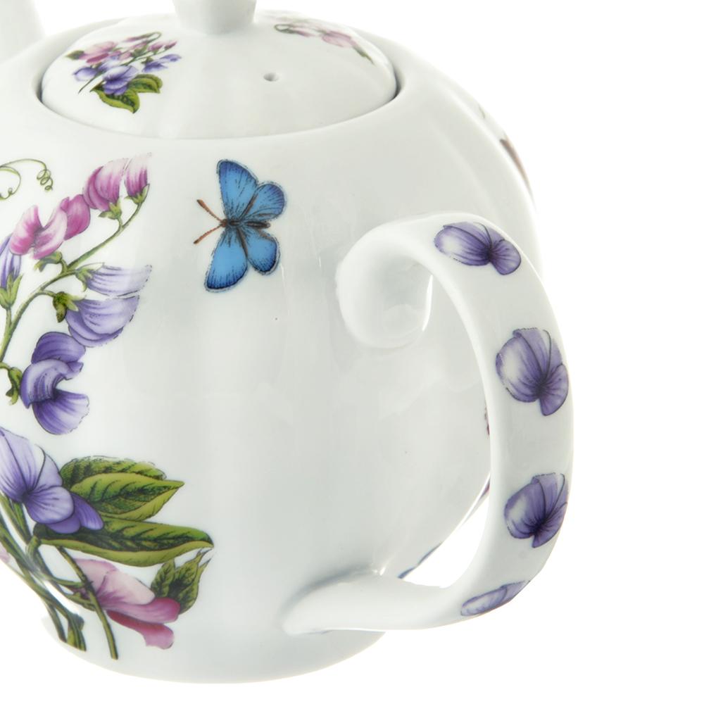Чайник заварочный MILLIMI Камила 850 мл, фарфор
