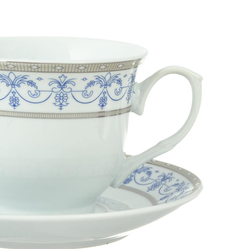Чайный сервиз Сальса 12 пр., 220мл, фарфо