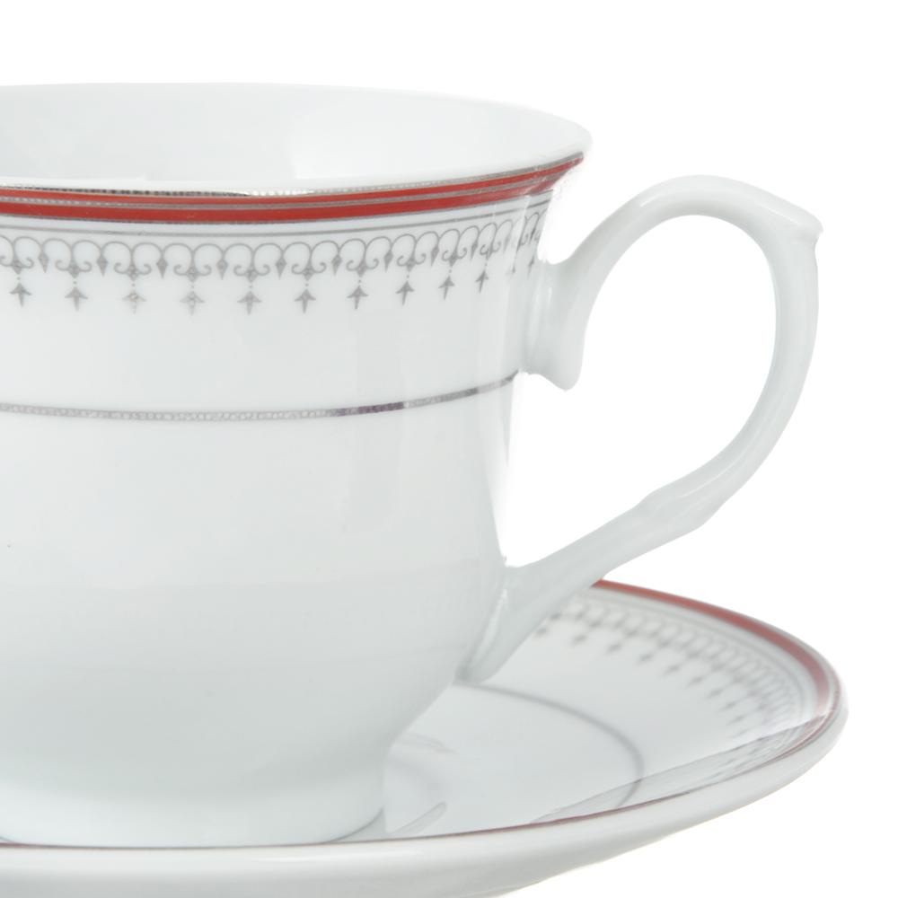 Чайный сервиз 4 предмета Стелла 220мл, фарфор