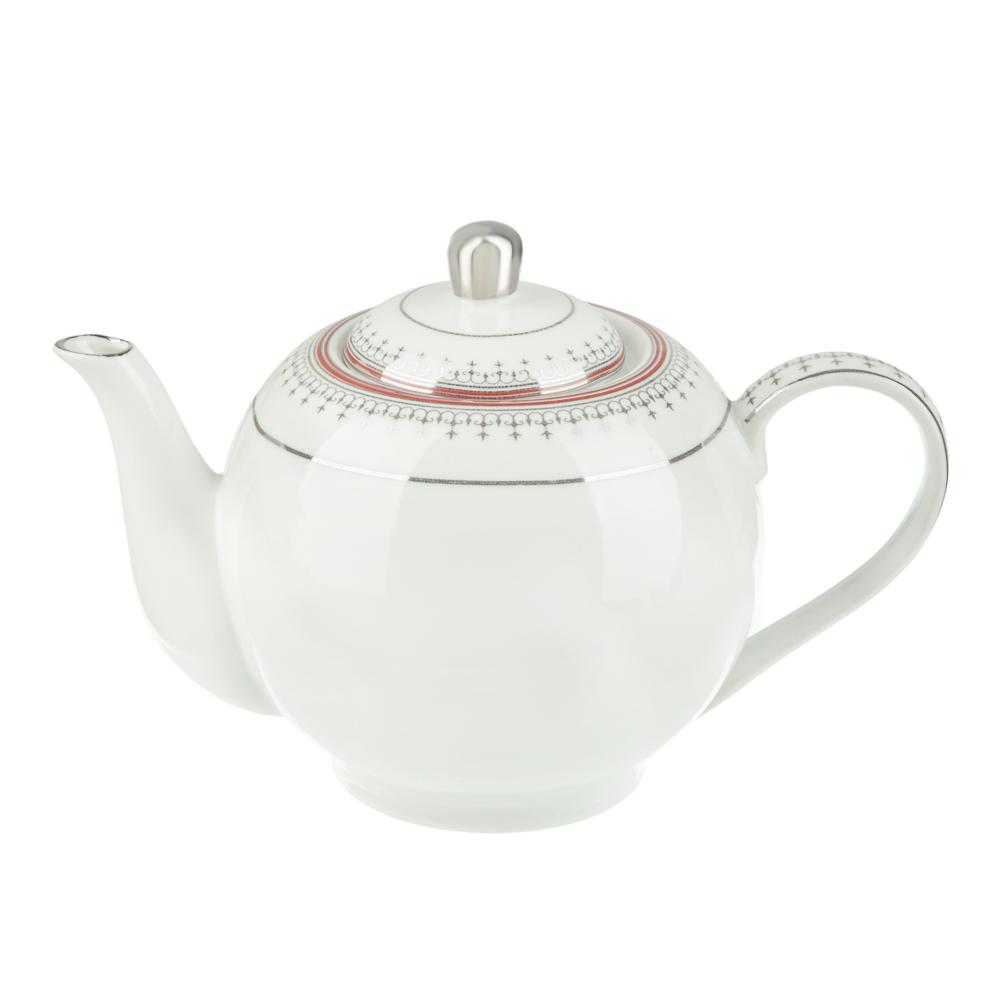 Чайник заварочный Стелла, 1000 мл, фарфор