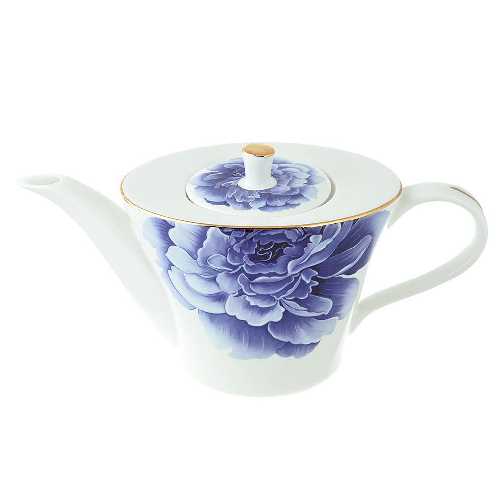 Чайник заварочный MILLIMI Виолета 650мл, костяной фарфор