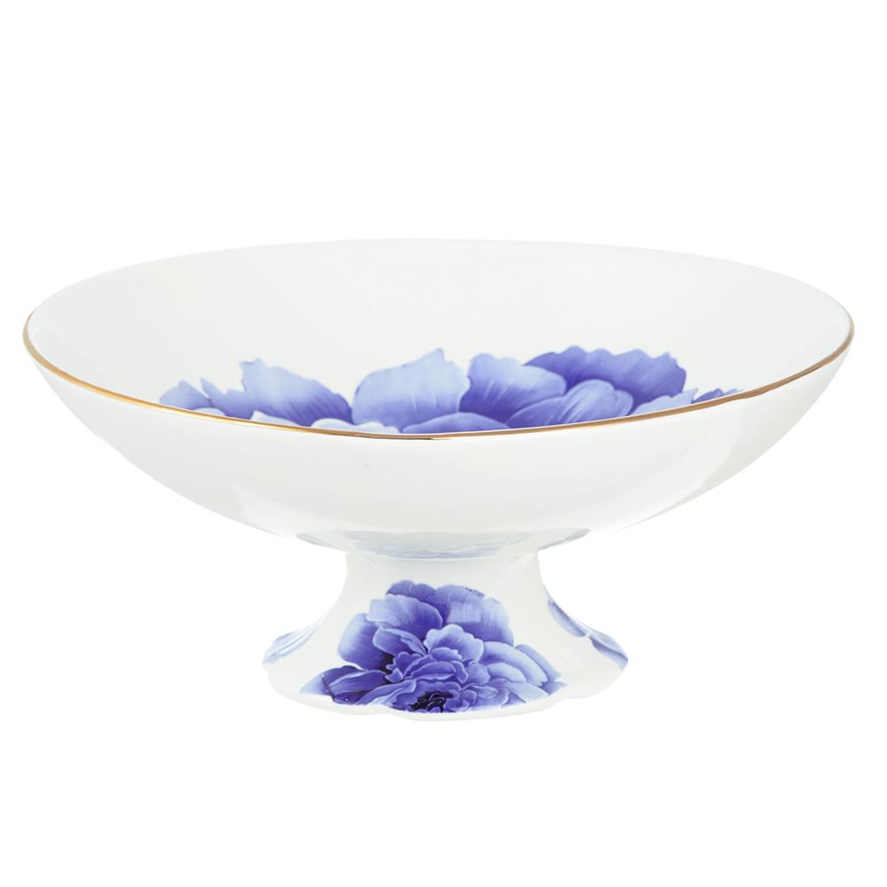 Ваза для фруктов MILLIMI Виолета 18х8см, костяной фарфор