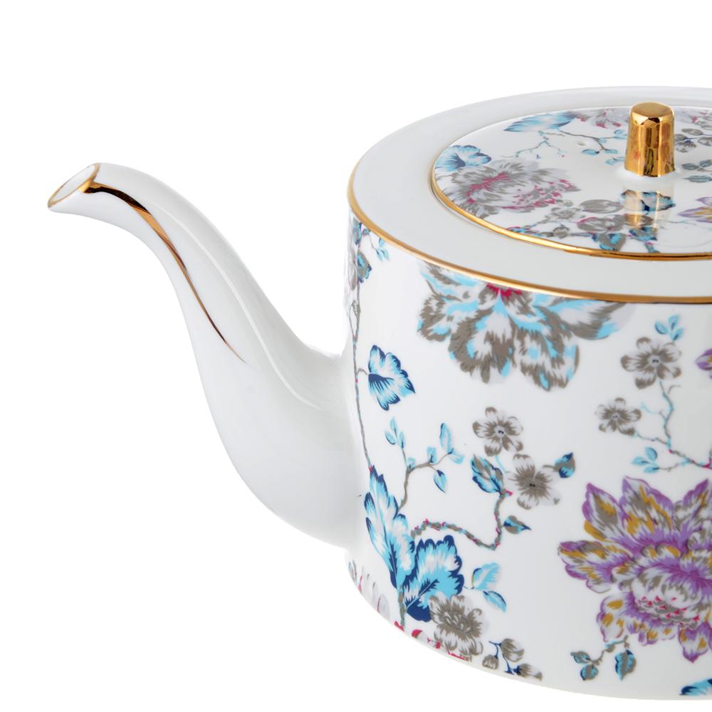 Чайник заварочный MILLIMI Вивальди 1150мл, костяной фарфор
