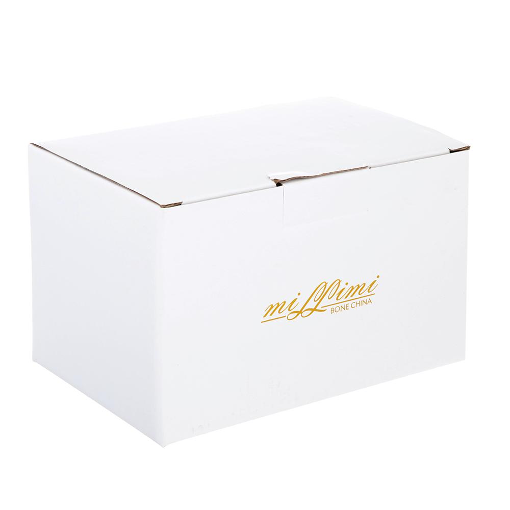Сахарница MILLIMI Вивальди 450мл, костяной фарфор