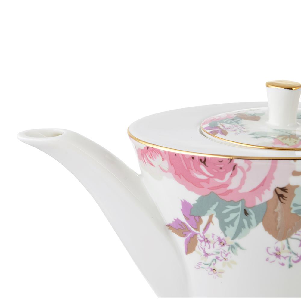 Чайник заварочный MILLIMI Верона 650мл, костяной фарфор