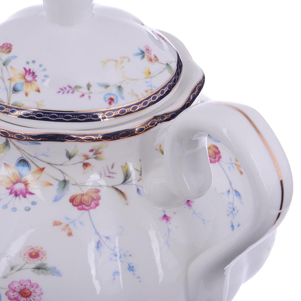 MILLIMI Маркиза Чайник заварочный, 1100мл, костяной фарфор