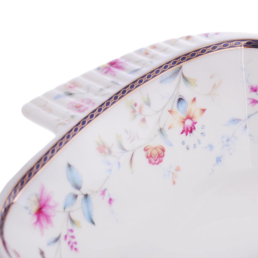MILLIMI Маркиза Форма для запекания и многослойных салатов, 28х17х5,5см, костяной фарфор