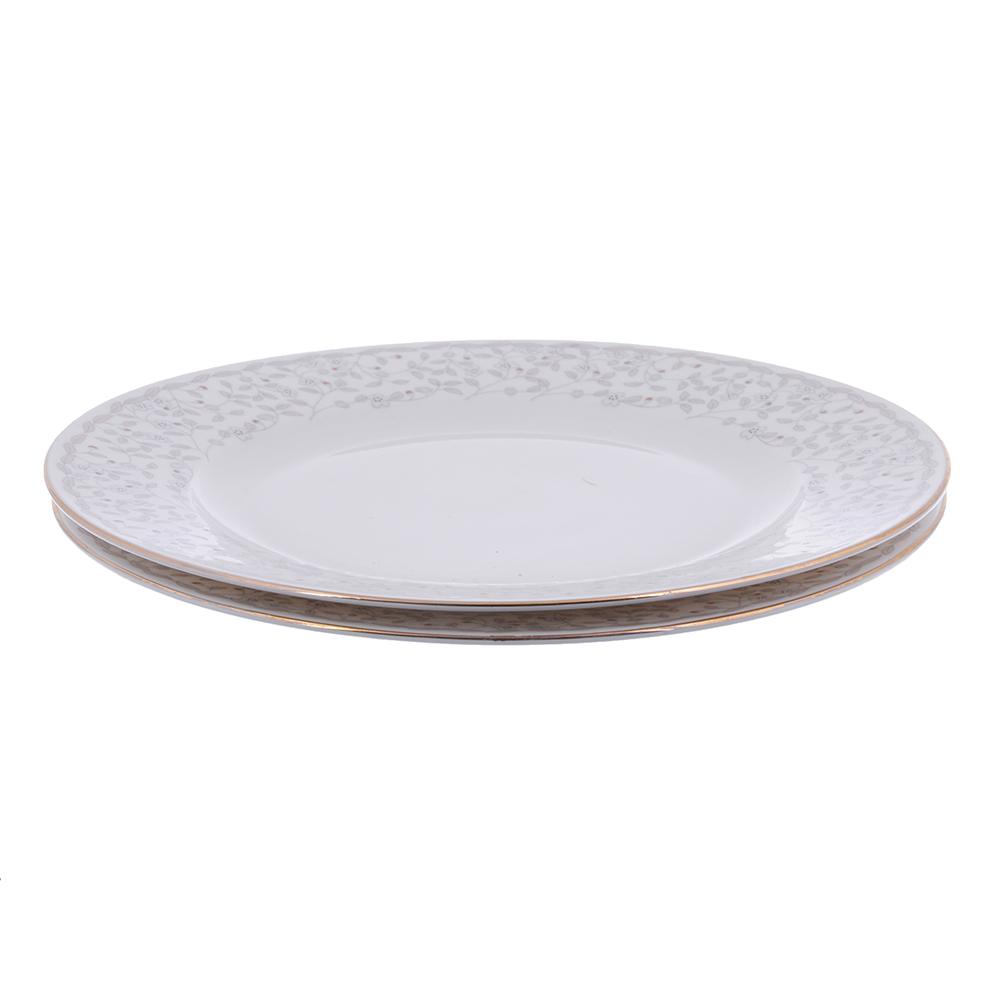 MILLIMI Тайна Набор тарелок 3пр., 24см, костяной фарфор