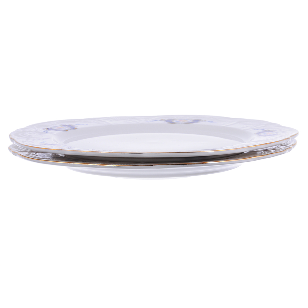 MILLIMIМенуэт Набор тарелок 3пр., 24 см, костяной фарфор