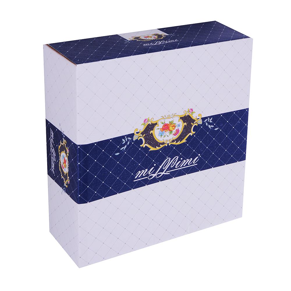 MILLIMI Менуэт Ваза для конфет, 18х5,5см, костяной фарфор